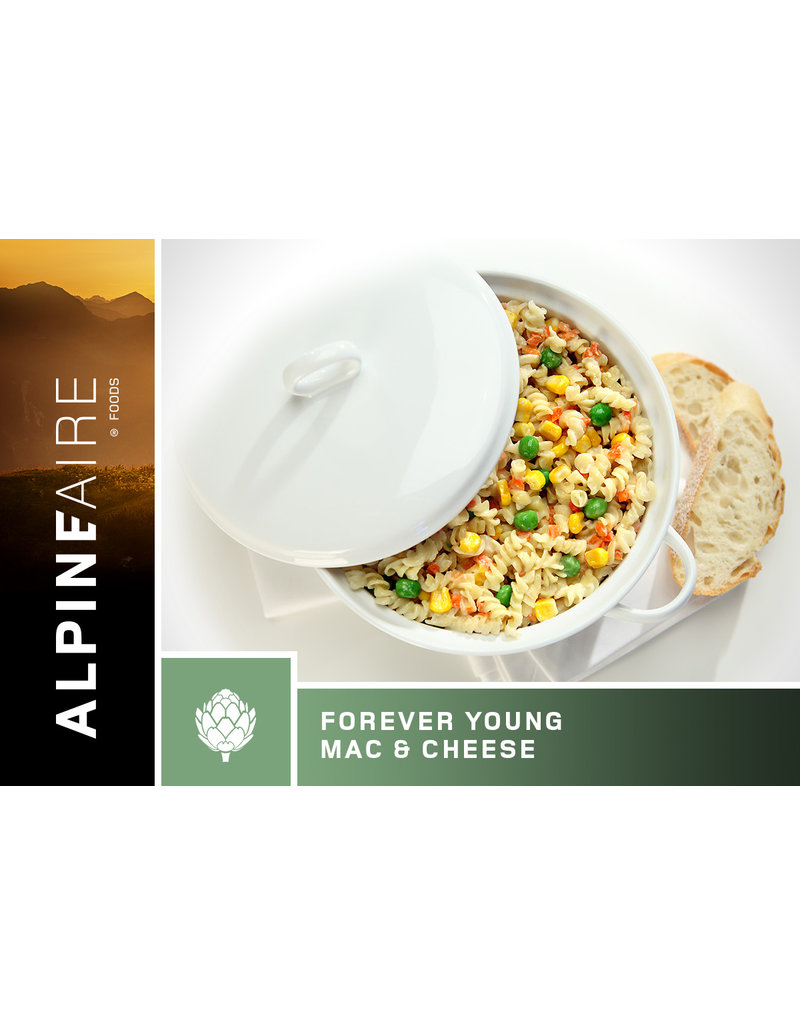AlpineAire Forever Young Mac & Cheese (Vegetarian)