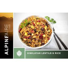AlpineAire Himalayan Lentils & Rice (Végétarien)