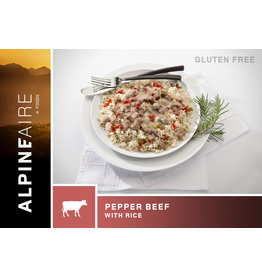 AlpineAire Pepper Beef with Rice (Gluten-free)
