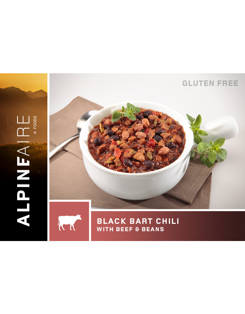 AlpineAire Black Bart Chili with Beef & Beans (Gluten-free)