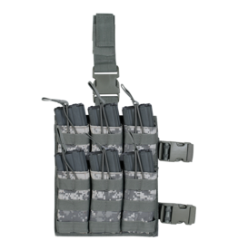 Voodoo Tactical M4/M16 Leg Sextuple Mag Pouch