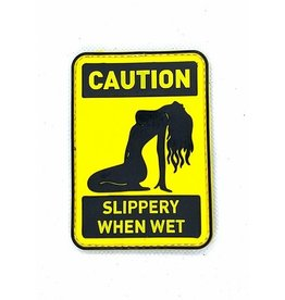 Custom Patch Canada Slippery When Wet Patch