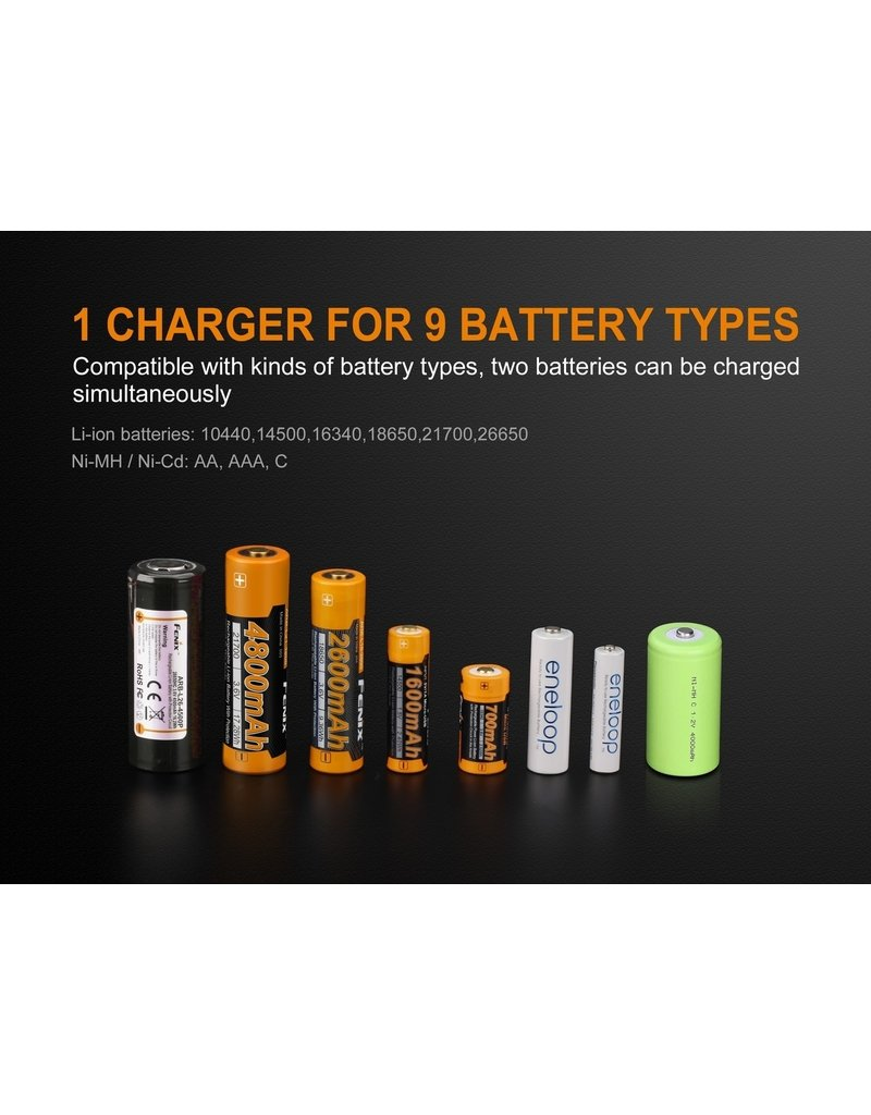 Fenix 2 Channel Battery Charger