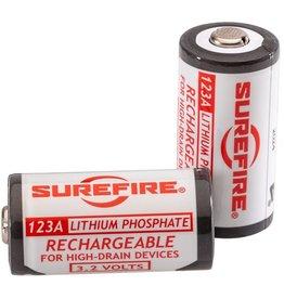 Surefire 123A Rechargeable Batteries Kit