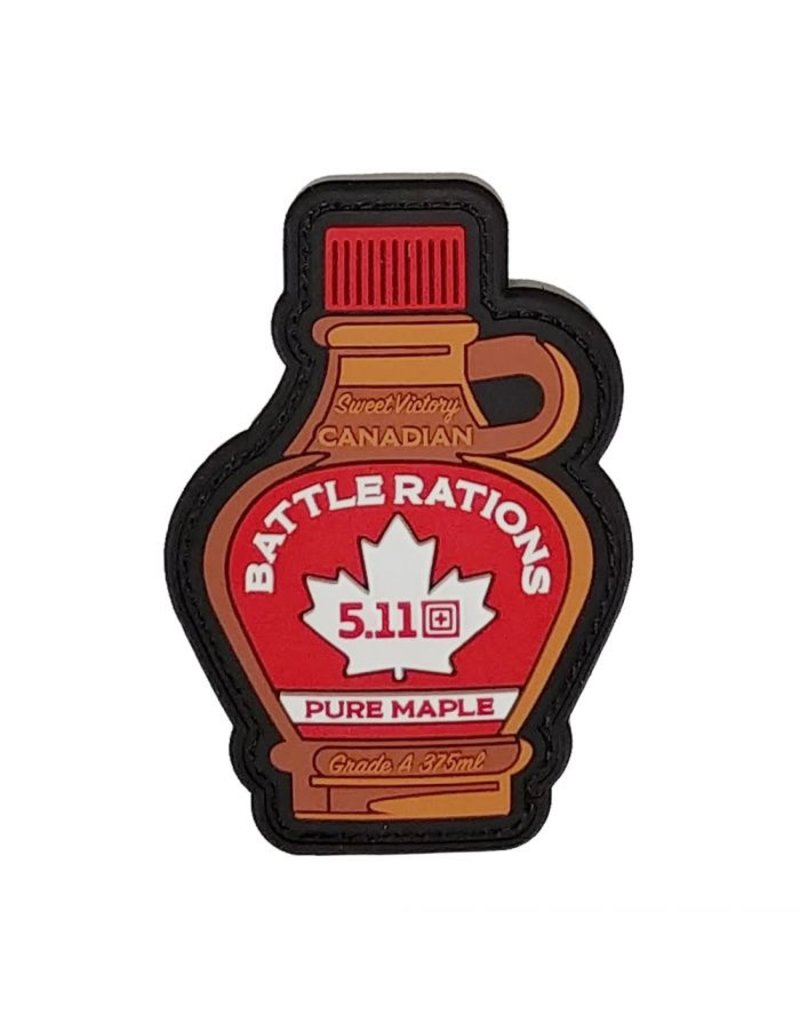 5.11 Tactical Canada Battle Rations Patch