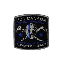 5.11 Tactical Hockey Thin Blue Line Patch