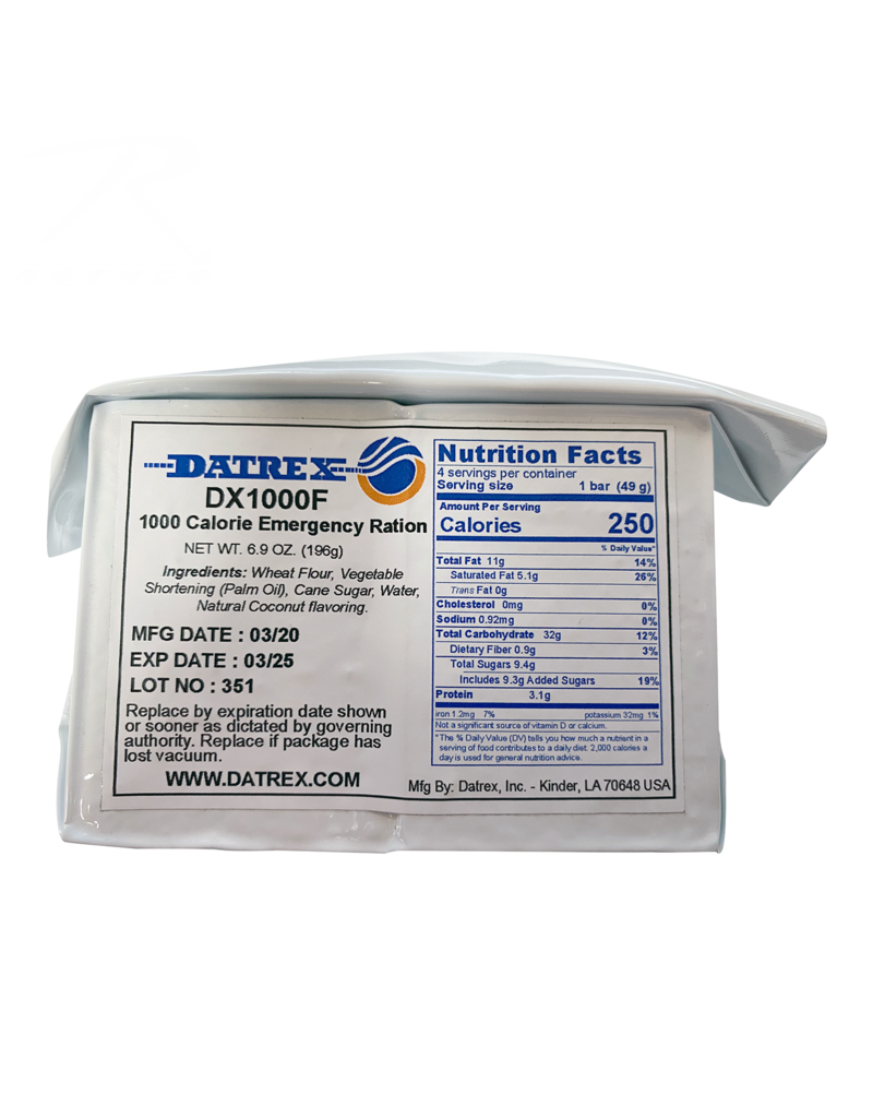 Datrex 1000 Calories Emergency Ration