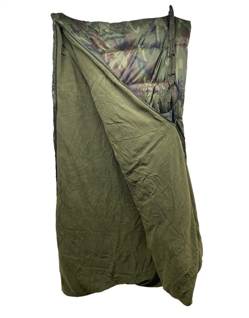 SGS Sleeping Bag and Fleece Blanket Combo