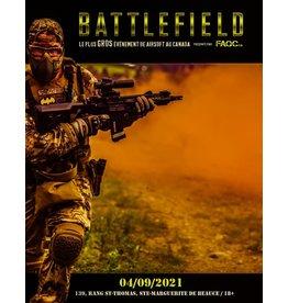 Billet de Battlefield 2021