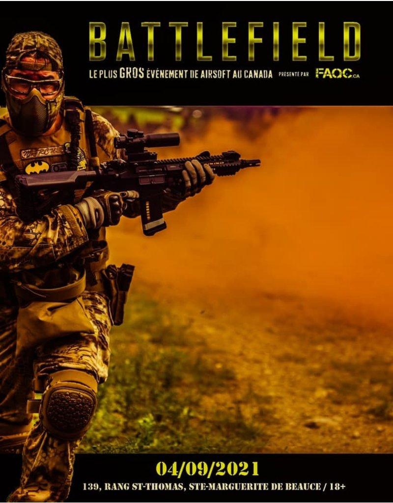 Battlefield 2021 Ticket
