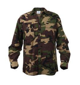 Rothco Extra Heavyweight Camo Flannel Shirt