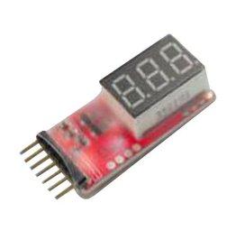Simple Voltage Display 16S LiPo Voltage Meter