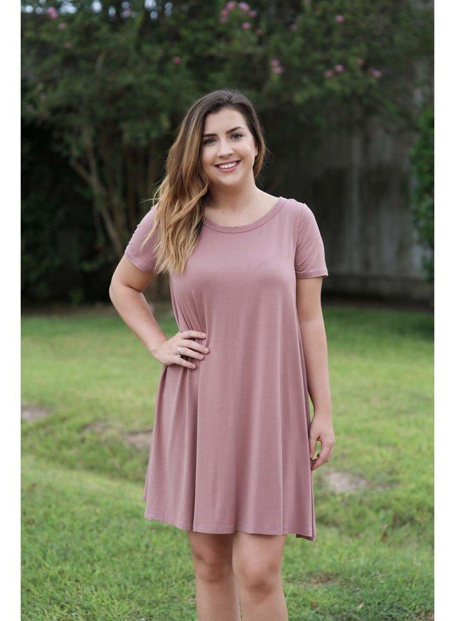 Kelly Back Strap Modal Dress