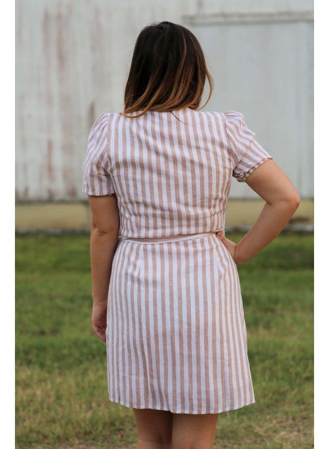 S/S Wrap Dress