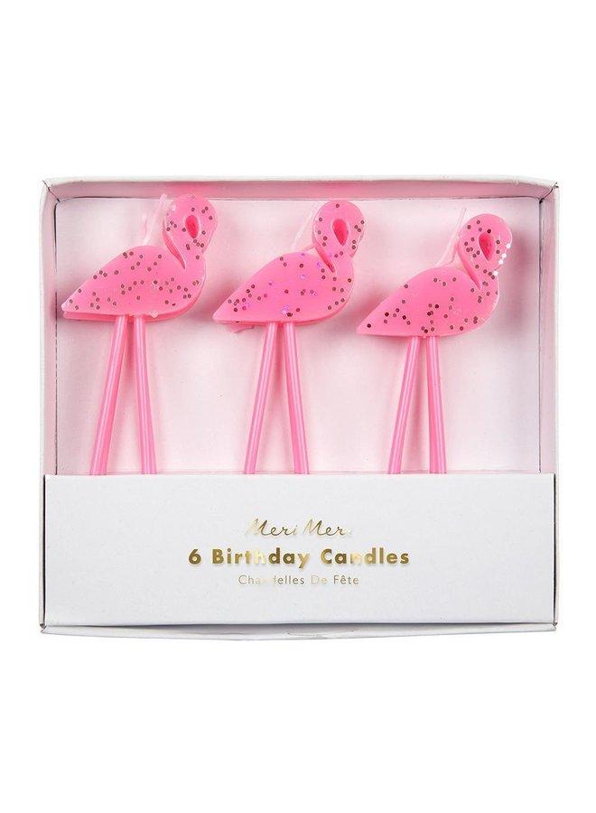 Candles Flamingo