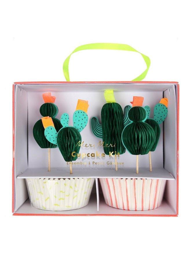 Cactus Cupcake Kit
