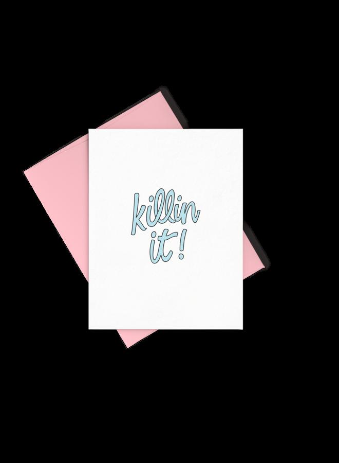 Killin It Card