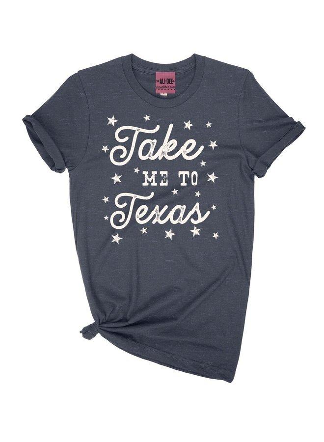 Take Me To Texas Tee
