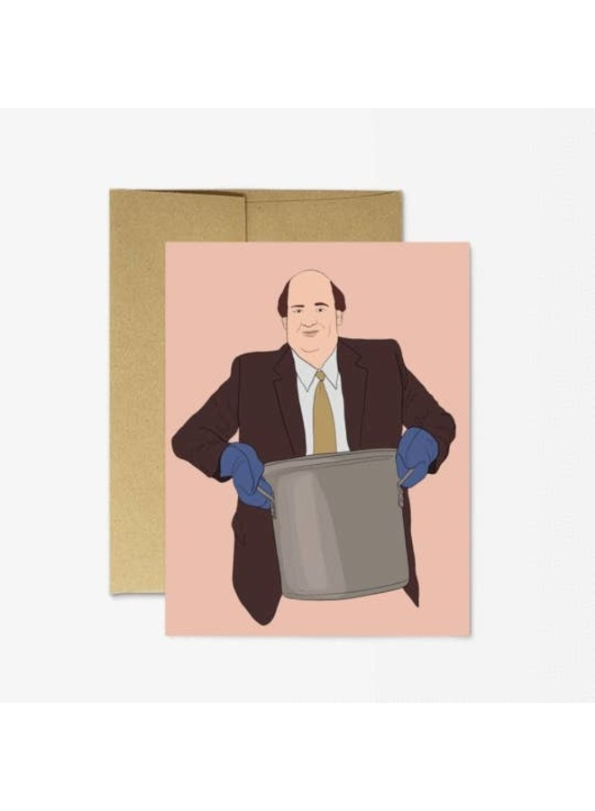 The Office Kevin Chili Card