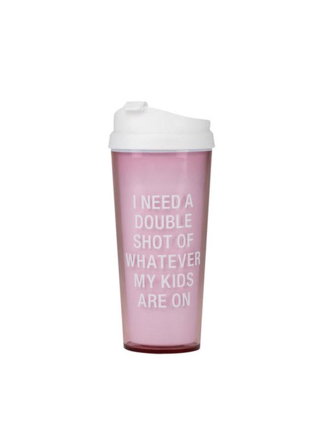 Double Shot Travel Mug