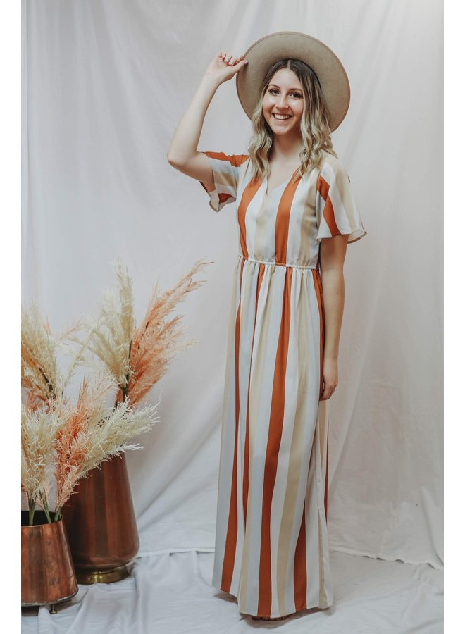 Sunset Stripped Maxi