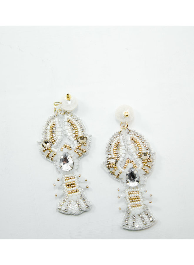 Viola Earrings Crawfish