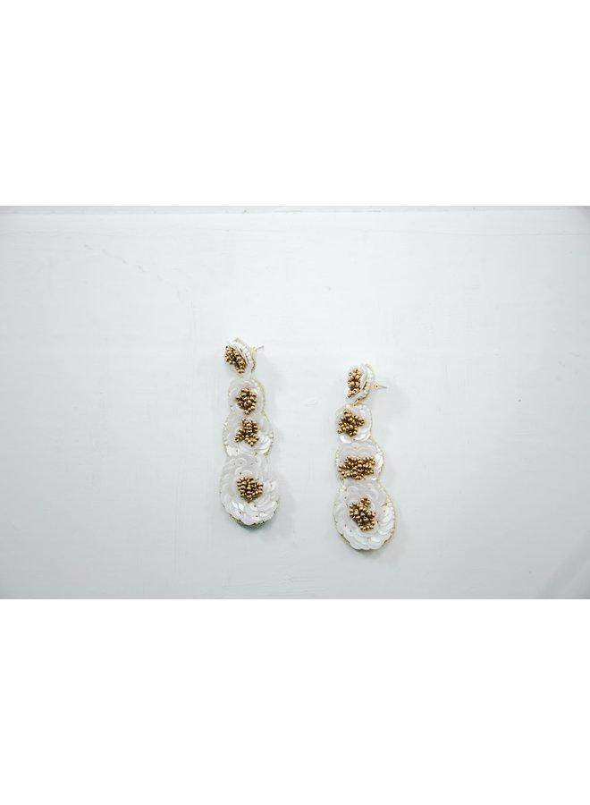 Viola Earrings Florals