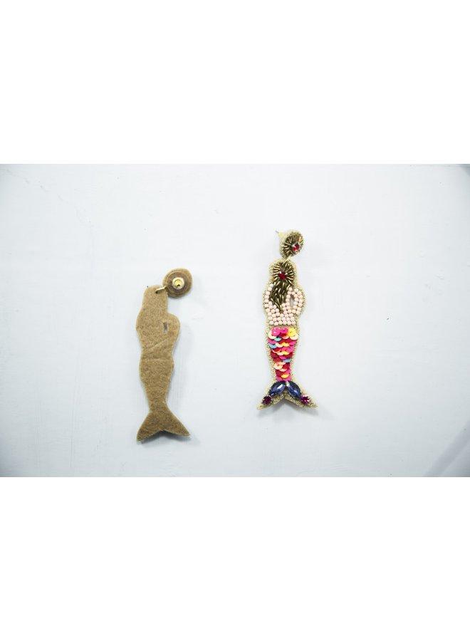 Viola Earrings Mermaid