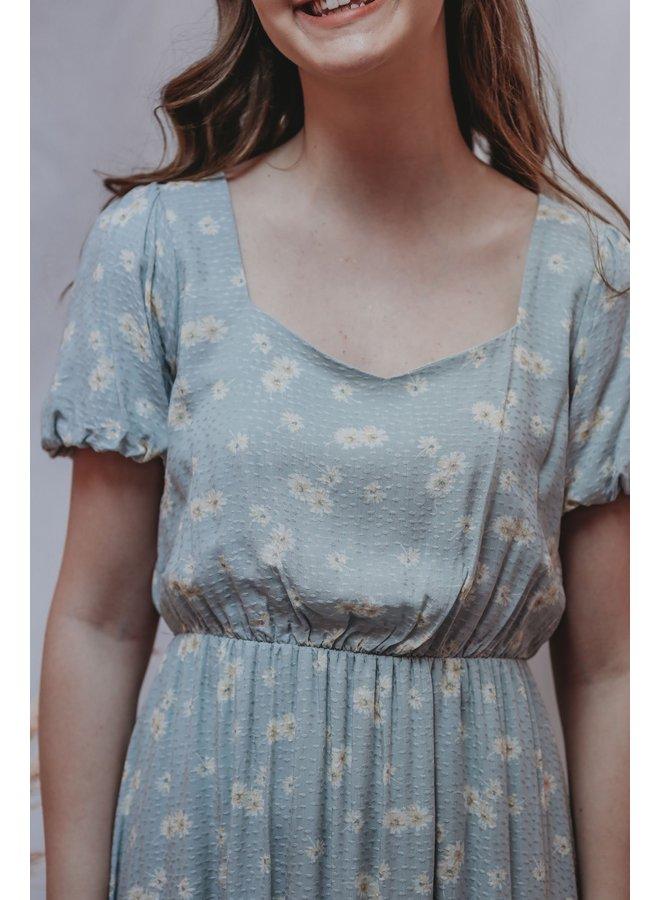 Light Sage Sweetheart Dress