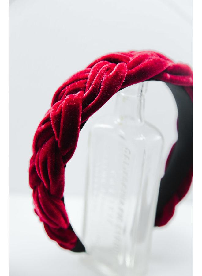 Velvet Braided Headband