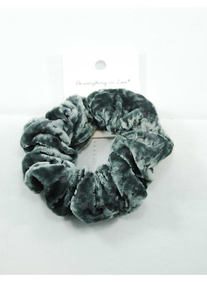 Velvet Scrunchies - Teal