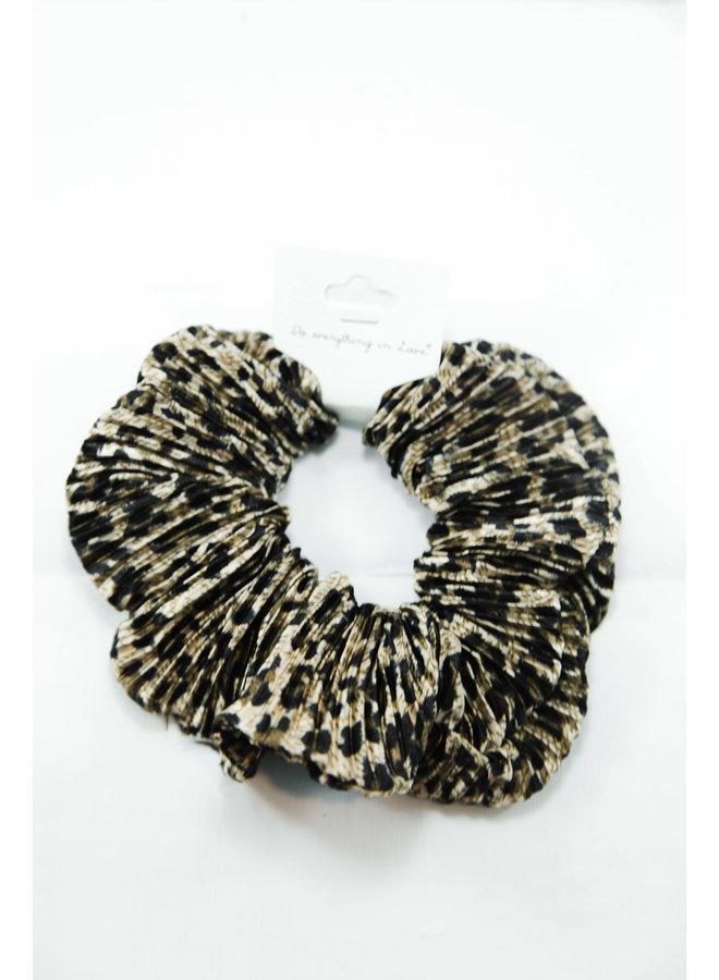 Cheetah Scrunchie