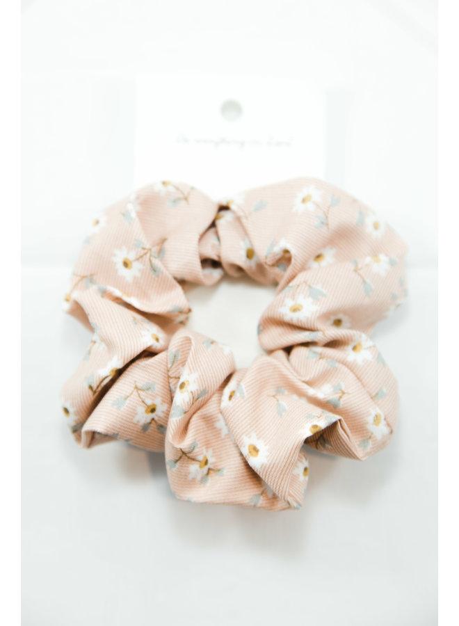 Wildflower Fields Scrunchie - Pink