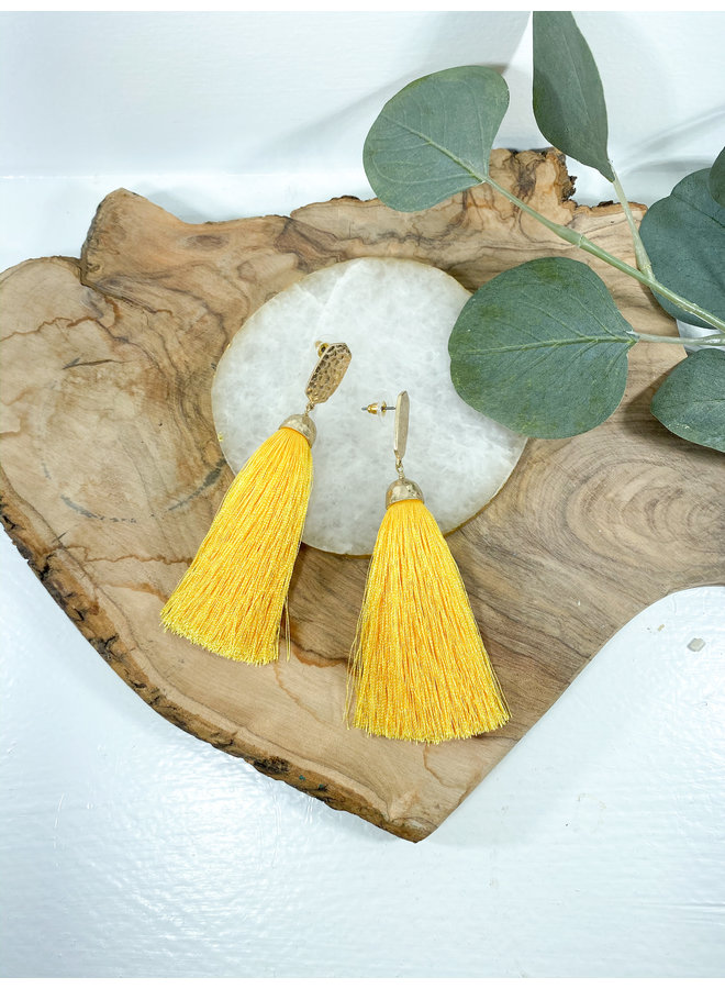 Robyn Tassel Earrings
