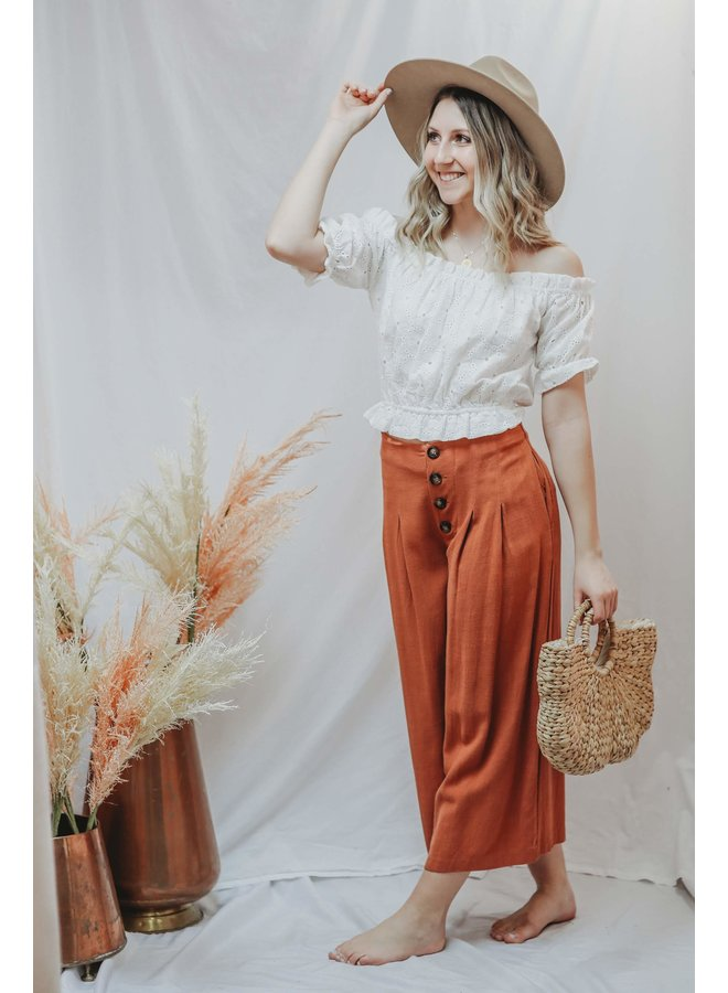 Clay Wide Leg Pants