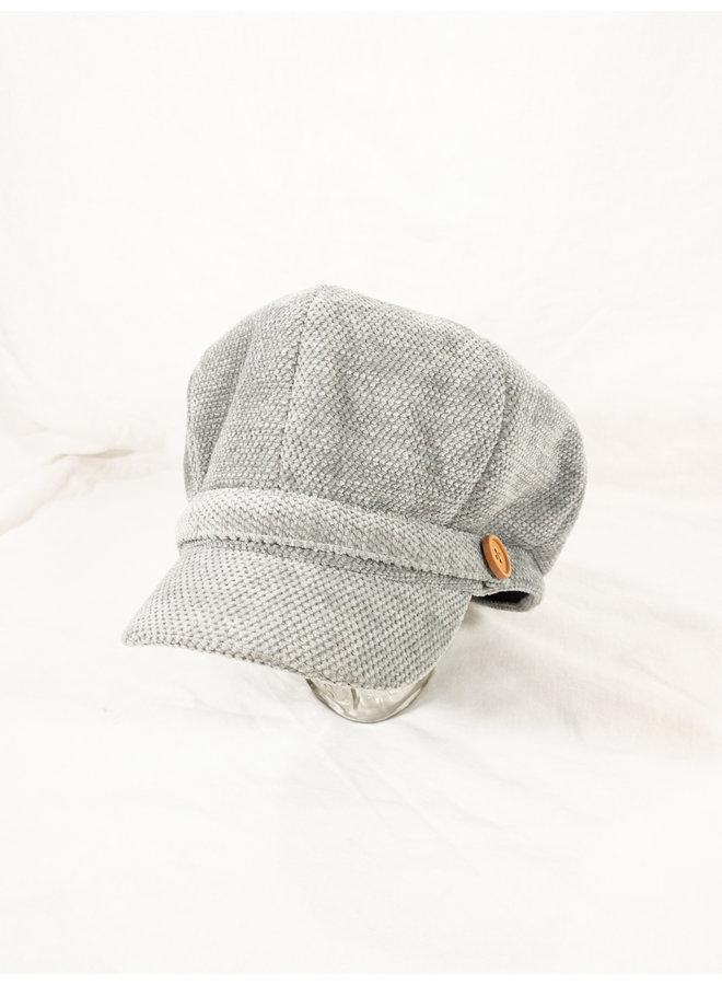 Breton Hat Grey