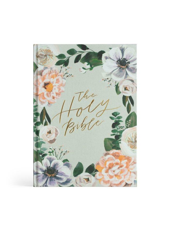 ESV Large Print Journaling Bible: Victoria Theme