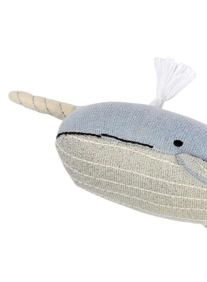 Small Knitted Narwhal