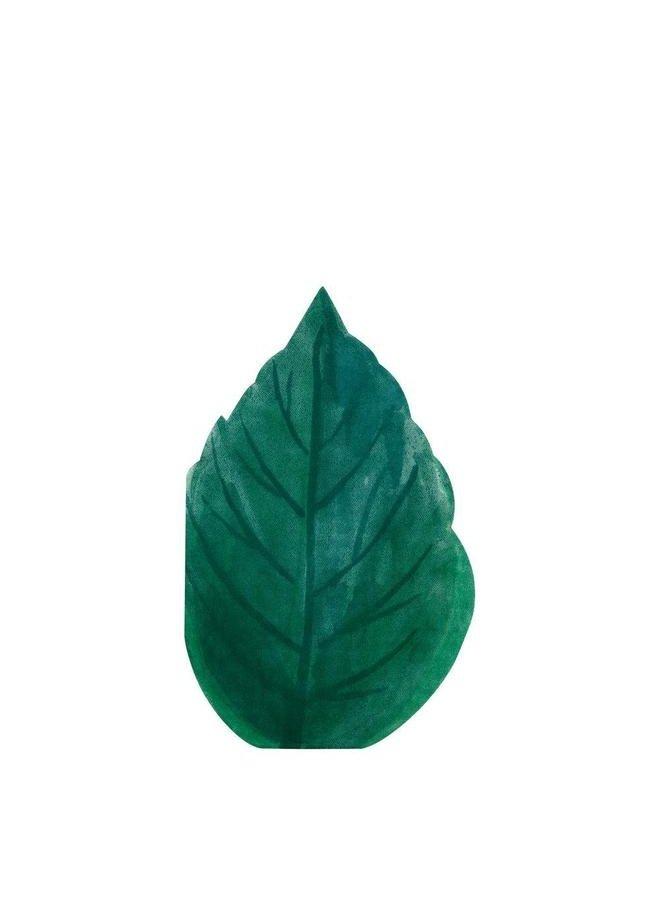 Rose Garden Leaf Napkins