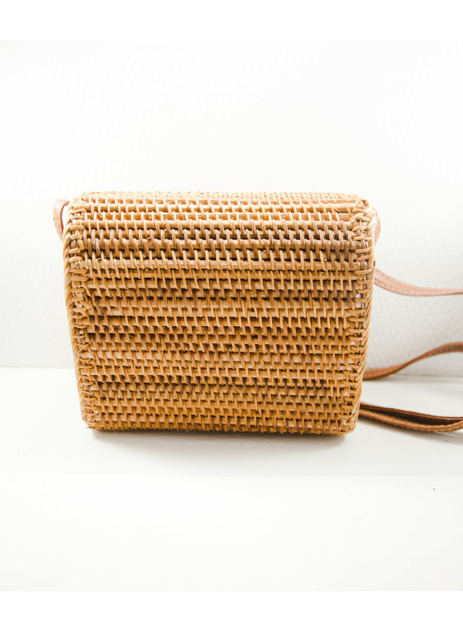 Rattan Rounded Top Bag