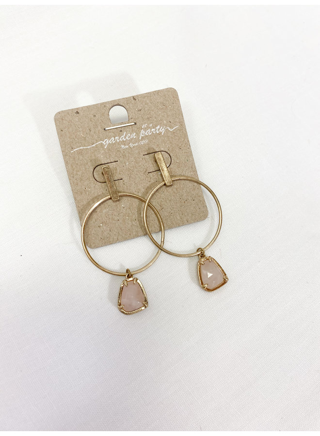 Stephanie Dangle Hoops