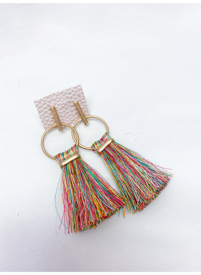 Alyssa Tassel Earrings