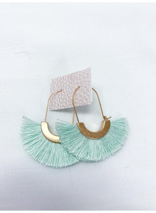 Tiffany Tassel Hoops