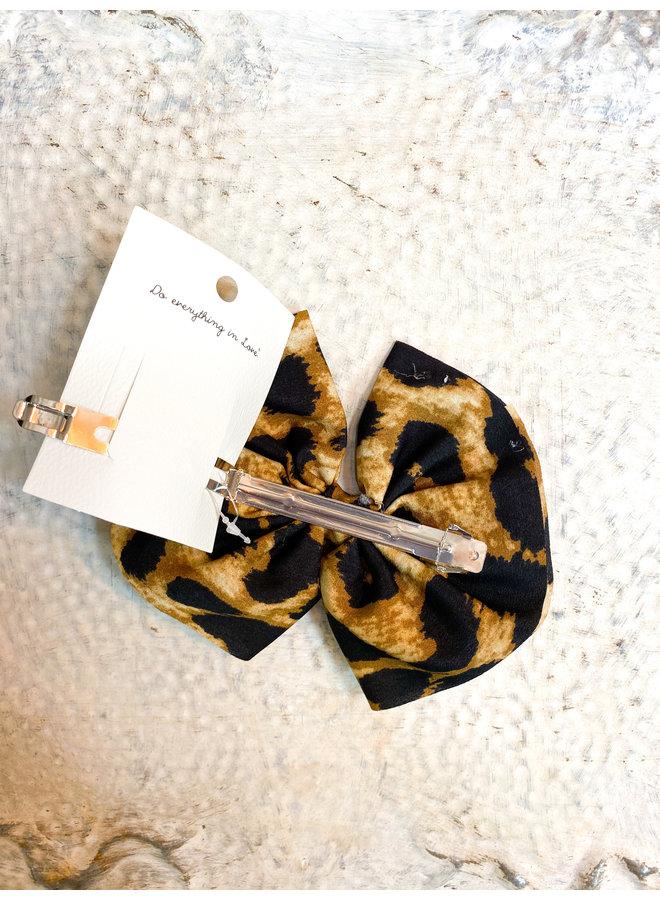 Cheetah Clip Bow