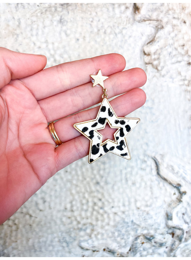 No. 3 Star Earrings
