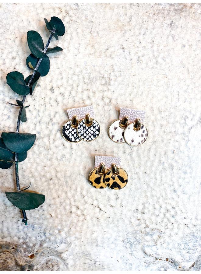 Dorothy's Circle Earrings