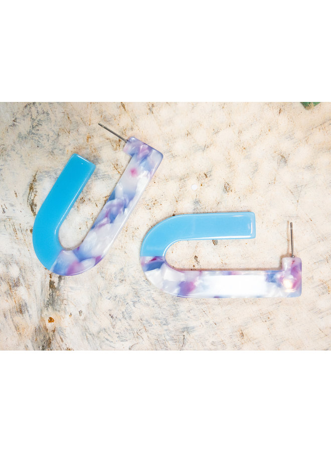 Chloe Acrylic Earrings