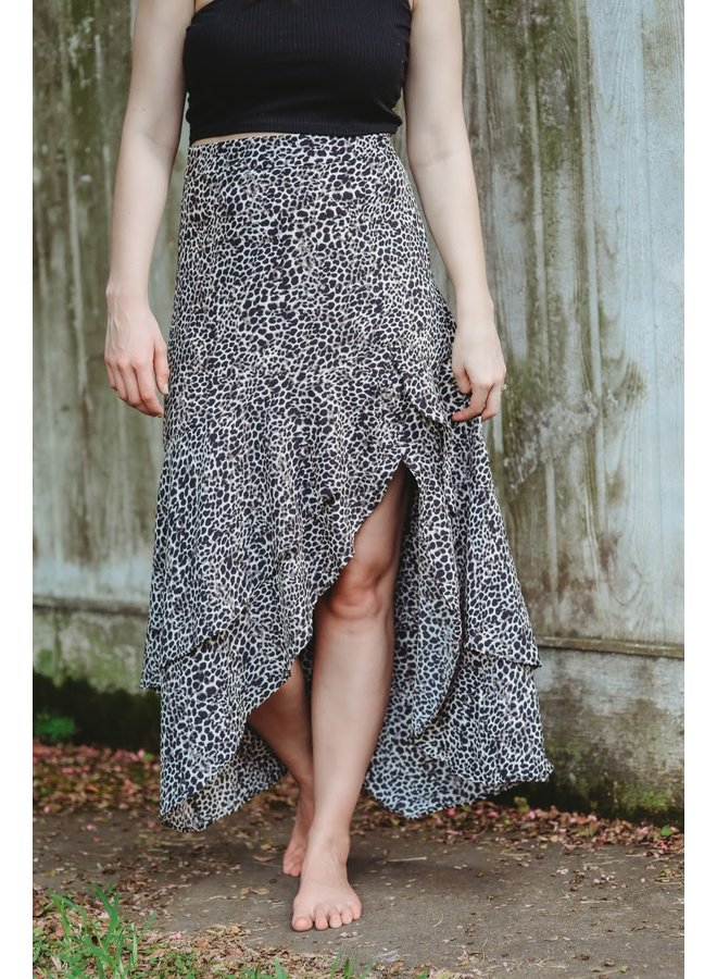Now you see me Midi Skirt
