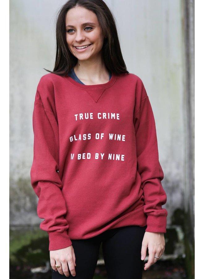 True Crime Pullover