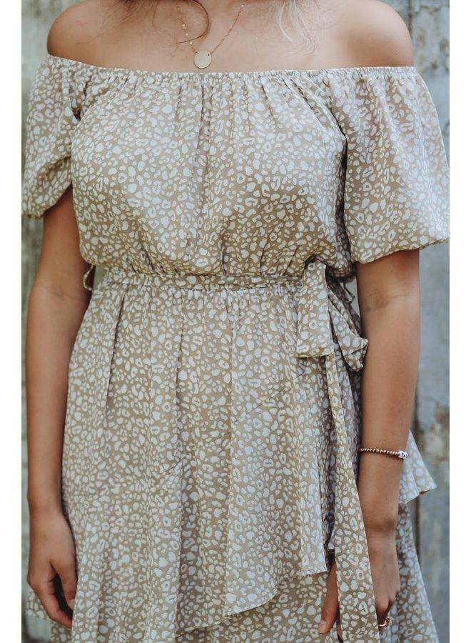 Desert Cheetah Party Dress